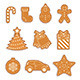Gingerbread Seamless Pattern - GraphicRiver Item for Sale