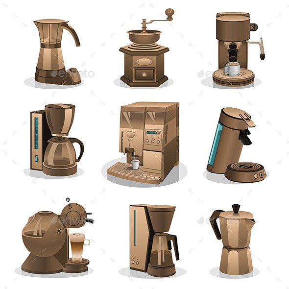 GraphicRiver Coffee Grinder 9797995