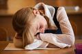 School Girl is sleeping - PhotoDune Item for Sale