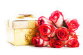 Gift box and bouquet of roses - PhotoDune Item for Sale