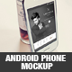 Android Phone Mockup v.2 - GraphicRiver Item for Sale
