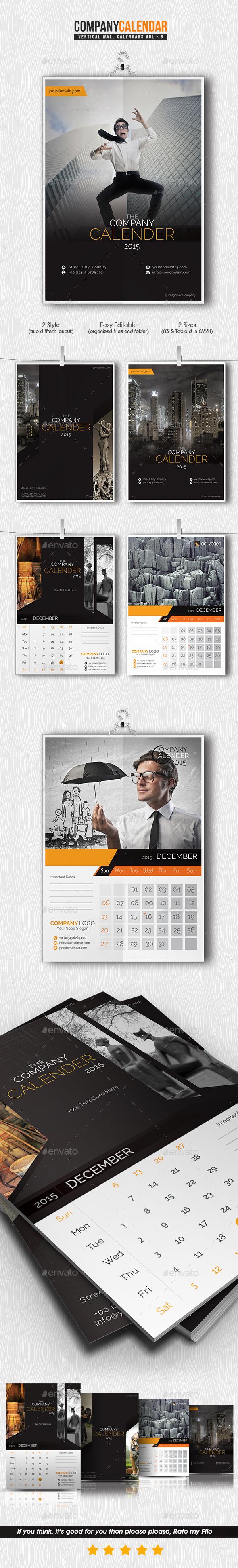 Company Calendar 2015
