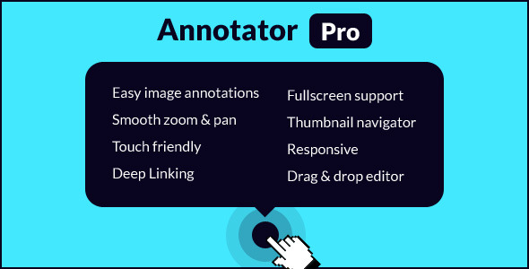 CodeCanyon Annotator Pro Image Tooltips & Zooming 9788132