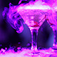 Cocktail with Cherry and Smoke - VideoHive Item for Sale