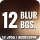 12 Blurred Backgrounds Vol.1