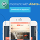 Flat Mobile App Facebook Timeline - GraphicRiver Item for Sale