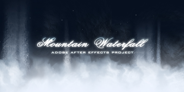 After Effects Project - VideoHive Mountain Waterfall 124544