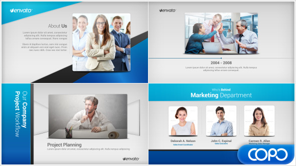 After effects project videohive simple company profile for Company profile after effects templates free download