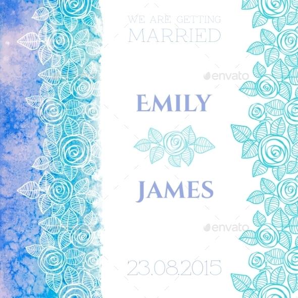 GraphicRiver Wedding Invitation 9800209