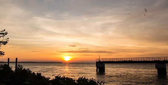 Sea Sunset 4B