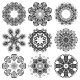 Round Ornamental Set - GraphicRiver Item for Sale