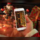 Christmas Phone 6 Mock Up - GraphicRiver Item for Sale