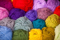 Colorful different wool thread balls - PhotoDune Item for Sale