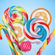 Colorful candies and lollipops - PhotoDune Item for Sale