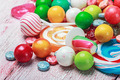multicolored lollipops and candy - PhotoDune Item for Sale