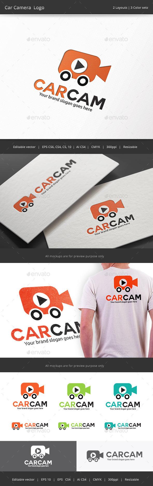 GraphicRiver Car Camera Logo 9801922