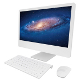 iMac computer (uv unwrapped, textured) - 3DOcean Item for Sale