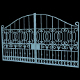 Iron Gate 3D Model - 3DOcean Item for Sale