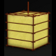 Japanese-style Paper Lamp nr.1 (emitting mesh, no  - 3DOcean Item for Sale