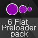 6 Flat Preloader Pack - ActiveDen Item for Sale