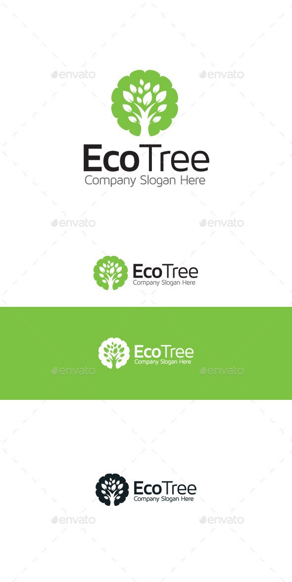 GraphicRiver Eco Tree 9802564