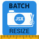 JSX Batch Resize for Adobe Photoshop