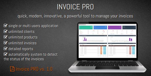 CodeCanyon Invoice PRO 9802977