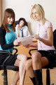 Young team of business women in office - PhotoDune Item for Sale