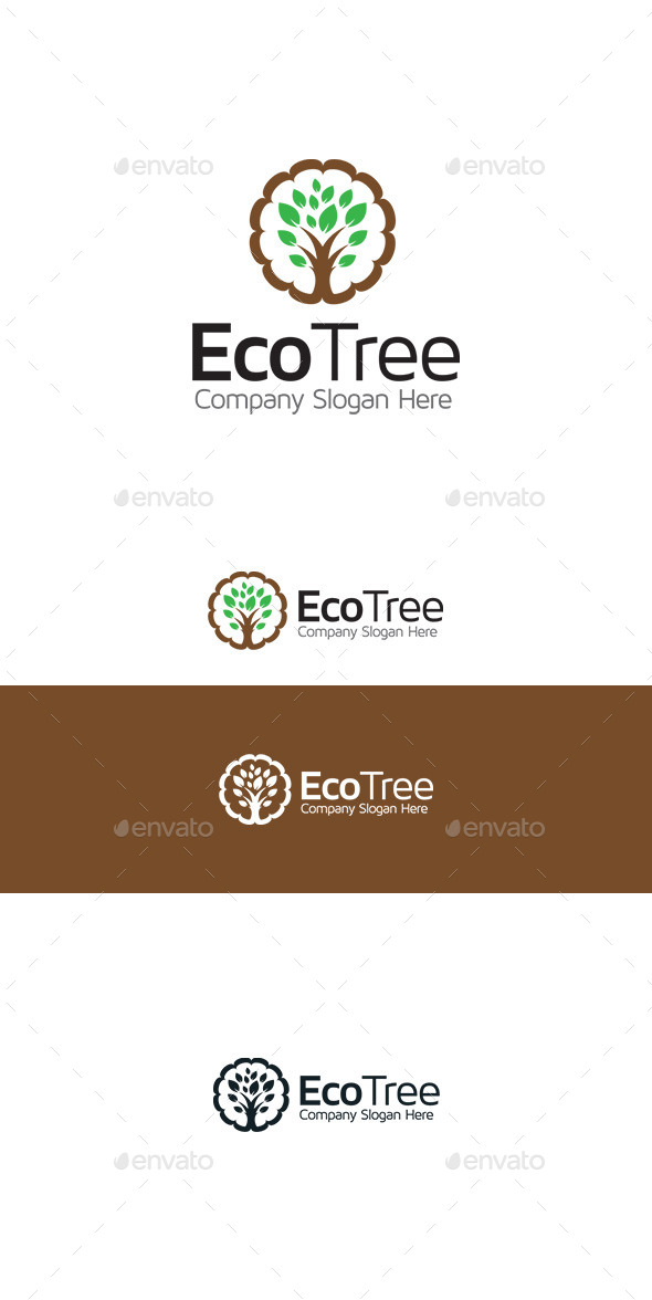 GraphicRiver Tree Logo 9802998