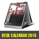 Desk Calendar 2015 - GraphicRiver Item for Sale