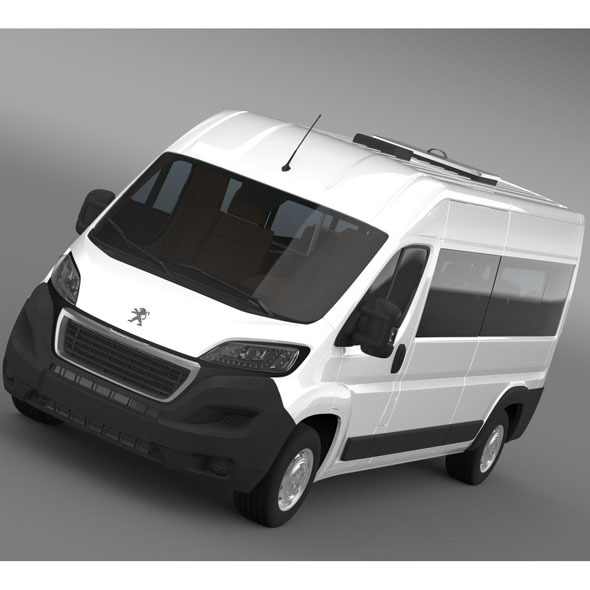 Peugeot Boxer Minibus 2014 - 3DOcean Item for Sale