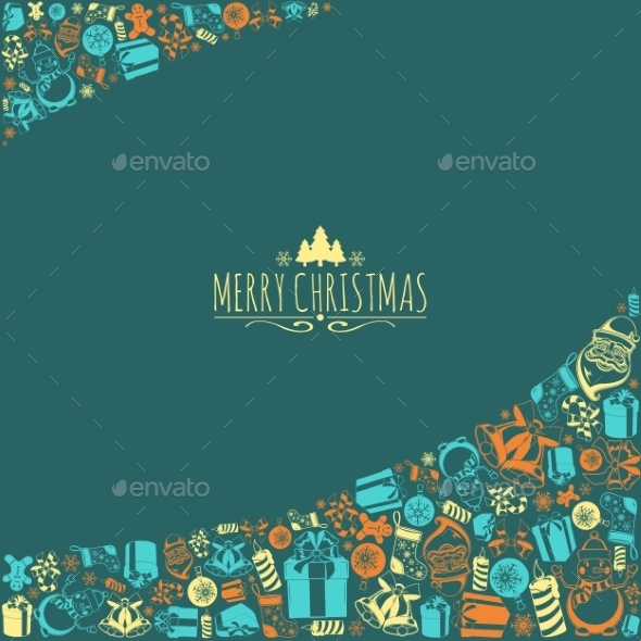 GraphicRiver Christmas Holiday Background 9803644