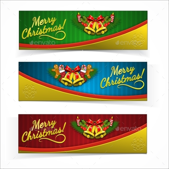 GraphicRiver Christmas Banners 9803690