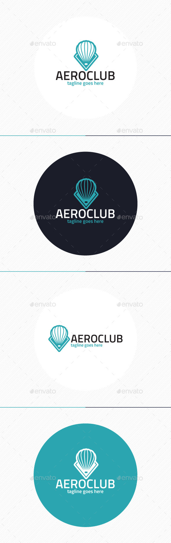 GraphicRiver Aero Club Logo 9803699