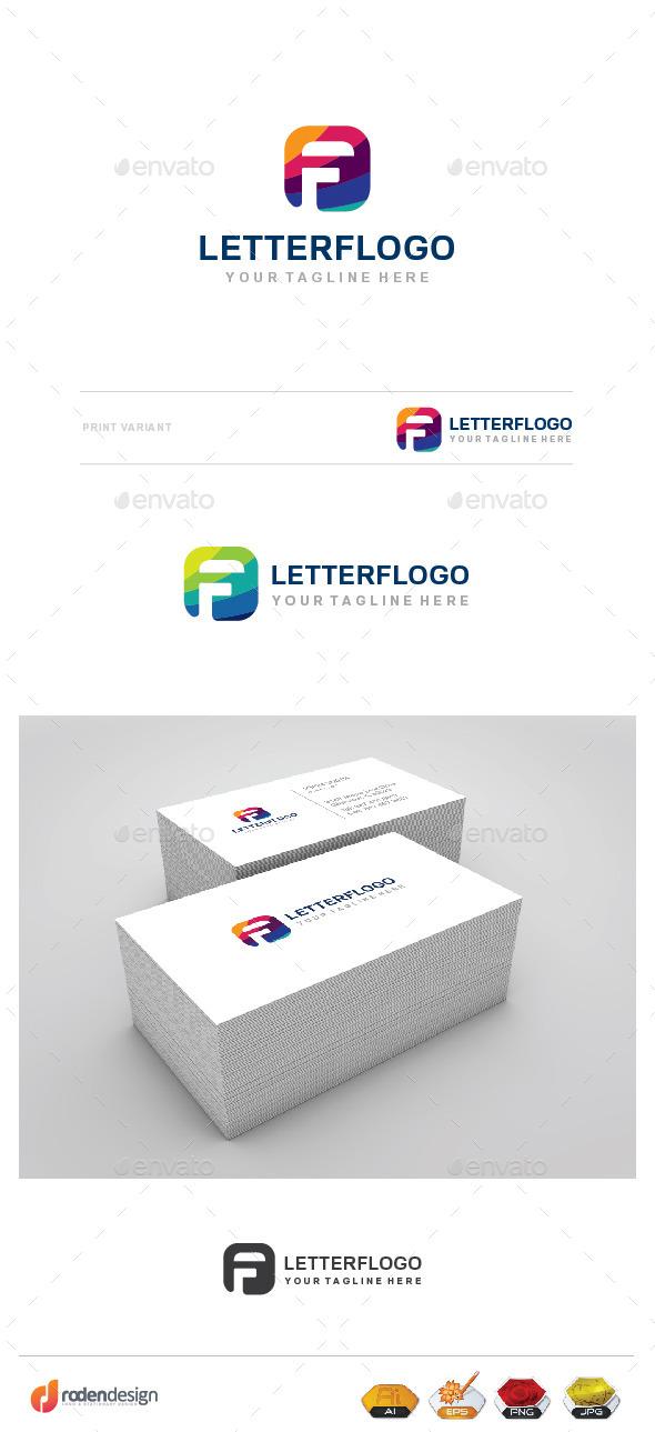 GraphicRiver F Letter Llogo 9804042