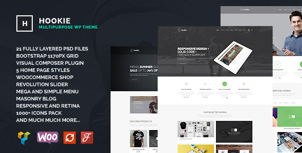 Hookie Agency & Business WordPress Theme