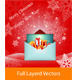 Merry Christmas & Happy New Year Gift Card - GraphicRiver Item for Sale