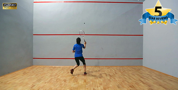 Squash Game Training