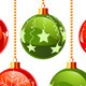 Color Christmas Baubles  - GraphicRiver Item for Sale