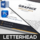 Graphix Creative Letterhead - GraphicRiver Item for Sale