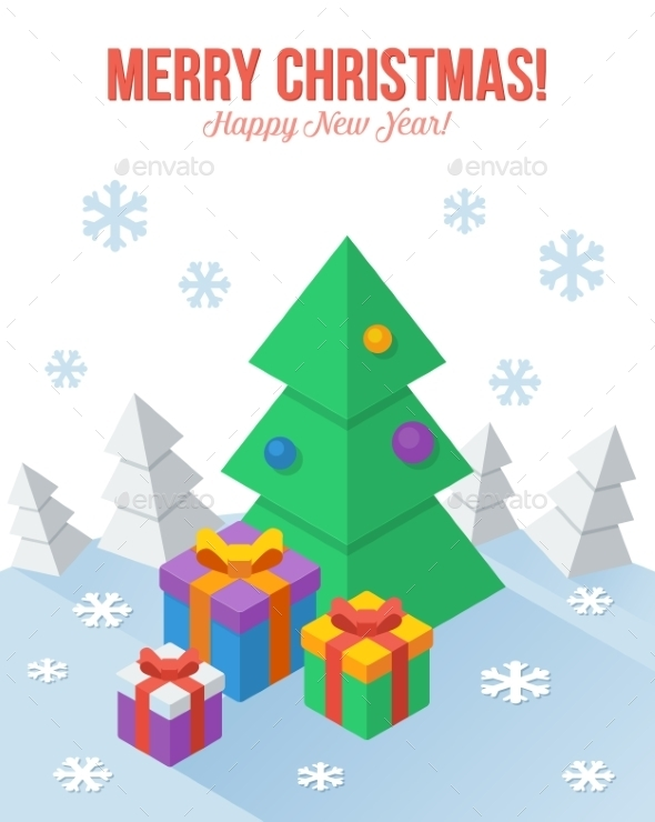 GraphicRiver Christmas Greeting Card 9806483