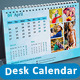 InDesign - Photo Collage Desk Calender - GraphicRiver Item for Sale