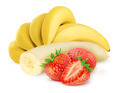 Banana and strawberry - PhotoDune Item for Sale
