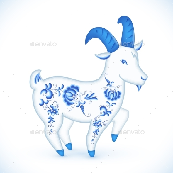 GraphicRiver Goat 9806758