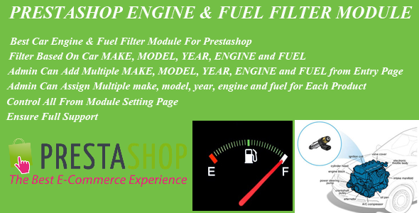 CodeCanyon Prestashop Car Engine & Fuel Filter Module 9806841