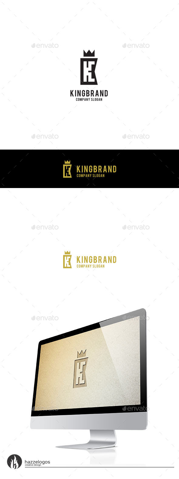 GraphicRiver King Brand Logo 9806846