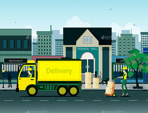 GraphicRiver Delivery 9807294