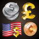 Vector Currency Pack - GraphicRiver Item for Sale