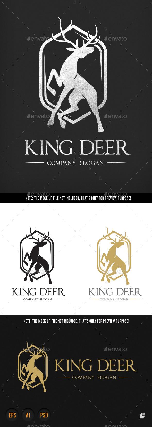 GraphicRiver King Deer 9807523