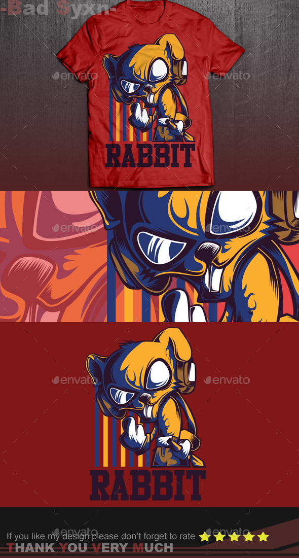 GraphicRiver Cool Rabbit 9726783